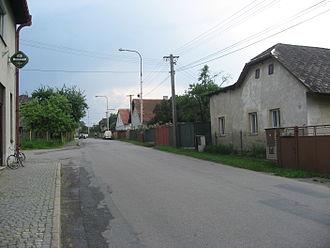 Čejov - Image: Čejov, ulice