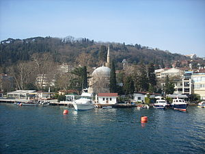 Bebek Mosque - Bebek Mosque as seen from Bosphorus.