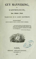 Walter Scott: Œuvres de Walter Scott