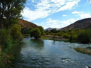 Arpa (river) - Arpa river in Vayots Dzor, Armenia