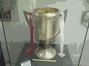 2002–03 Süper Lig - The 2002–03 Süper Lig champions' trophy.