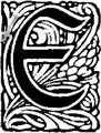 Żywoty św. Pańskich na wszystkie dnie roku-Inicjał-E.png
