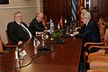 Επίσκεψη, Υπουργού Εξωτερικών, Ν. Κοτζιά στην πΓΔΜ – Συνάντηση ΥΠΕΞ, Ν. Κοτζιά, με Πρόεδρο κόμματος DUI, A. Ahmeti (23.03.2018) (27100861318).jpg
