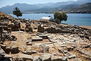 Mochlos - The Minoan settlement of Mochlos