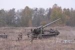"""Бойові стрільби артилерійських підрозділів на полігоні """"Дівички"""" (30598643381).jpg"""