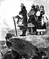 Братья Щек, Кий, Хорив и их сестра Лыбедь, 1907.jpg
