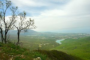 Nyzhnohirskyi Raion - Konek Ridge, Nyzhnohirsky District