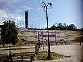 Вид на монумент «Дружба народов» и спуск к набережной Ижевского пруда.jpg
