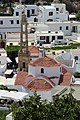 Вид сверху. Храм Богородицы. Lindos. Rodos. Greece. Июнь 2014 - panoramio.jpg