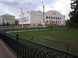 Cheremshansky District - House of Culture in the selo of Cheremshan