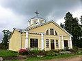 Здание бывшей ст. Земгале, теперь католическая церковь (1) - Bontrager - Panoramio.jpg