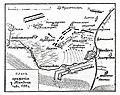 Карта-схема к статье «Минден». Военная энциклопедия Сытина (Санкт-Петербург, 1911-1915).jpg