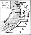 Карта № 6 к статье «Испано-американская война 1898 года». Военная энциклопедия Сытина (Санкт-Петербург, 1911-1915).jpg
