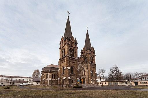 Костел св. Миколая, Кам'янське. Автор фото — PhotoDocumentalist,вільна ліцензія CC BY-SA 4.0
