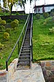 Лестница, ведущая со двора Монастыря к поклонному Кресту.JPG