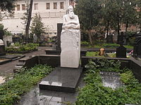 Могила учёного Отто Шмидта.JPG