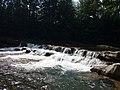 Поляницький регіональний парк. Водоспад біля скель О.Довбуша.jpg
