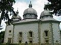 Преображенська церква захована у лісі..JPG
