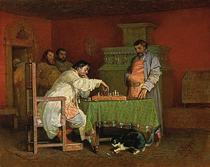 Etude of the life of the Russian Tsars (Chess playing)