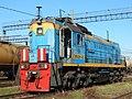 ТЭМ18ДМ-435, Россия, Самарская область, станция Сызрань (Trainpix 194402).jpg