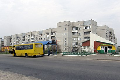 How to get to вулиця Євгенія Харченка with public transit - About the place