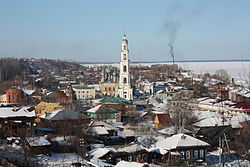 View of Yuryevets, March 2013