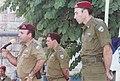 גדי אייזנקוט מוטי יוגב ושאול מופז בטקס החלפת מפקדי חטיבת אפריים.jpg