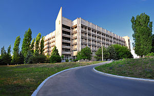 Admiral Makarov National University of Shipbuilding - NUS main building