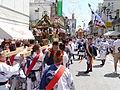 小田原の神輿と山車.JPG