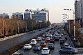 长城路街景(左为榆林城墙) - panoramio.jpg