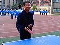 雁塔 陕师大附中分校在打乒乓球 09.jpg