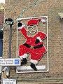 -2019-12-07 Santa claus Christmas lights, Tucker Street, Cromer.JPG