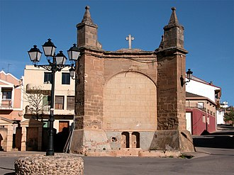 Ausejo - Chapel of the Crucifix (16th Century).