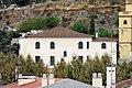 059 Hotel Estrac (Caldes d'Estrac), des del parc de Can Muntanyà.JPG