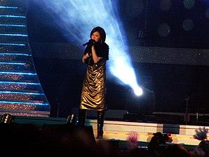 """Aya Matsuura at V Power """"Music Storm&quot..."""