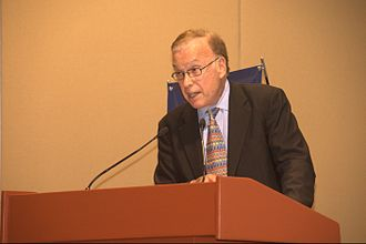 Lester Salamon - Salamon speaking at a conference at the Monterrey Institute of Technology and Higher Education, Mexico City.