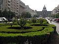 091 Plaça de Venceslau, al fons el Museu Nacional.jpg