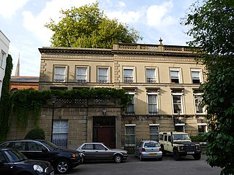 Rowland Hill - 1 Orme Square, Bayswater, London, W2, Hill's home 1839–42