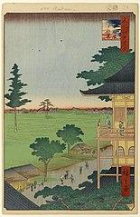 The Sazaidō Hall at the Five Hundred Rakan Temple