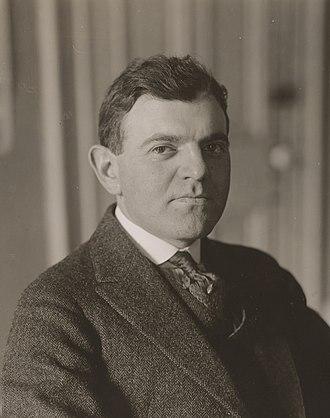 Carl R. Byoir - Carl Byoir in Mai 1918