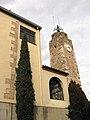 112 Santa Maria d'Olesa i torre del Rellotge.jpg