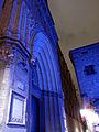 128 Catedral de Barcelona, portal de Sant Iu, durant el festival Llum BCN.JPG