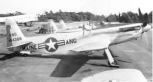 132d Air Refueling Squadron - North American F-51H Mustang 44-64368, 1953
