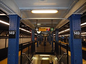 149th Street – Grand Concourse; Transfer from Jerome Ave to WPR.JPG