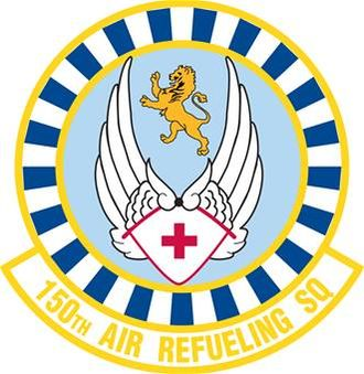 150th Air Refueling Squadron - Image: 150th Air Refueling Squadron emblem