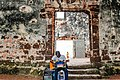 1521 St Paul's Church (Ruins) - Doorway and Guitarist.jpg
