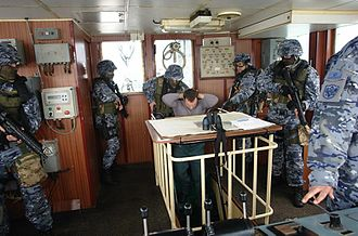 Armed Forces of Montenegro - Members of Marine Detachment