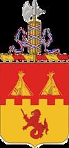 157th Field Artillery Regiment COA