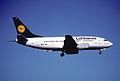16an - Lufthansa Boeing 737-530; D-ABII@ZRH;29.03.1998 (5553214018).jpg