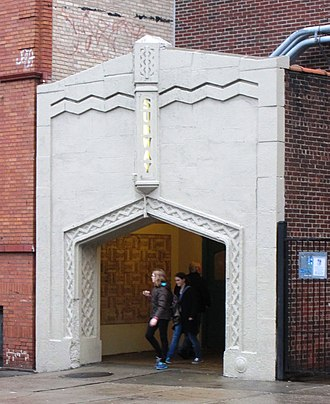 181st Street (IND Eighth Avenue Line) - Fort Washington Avenue entrance between West 183rd and 185th Streets